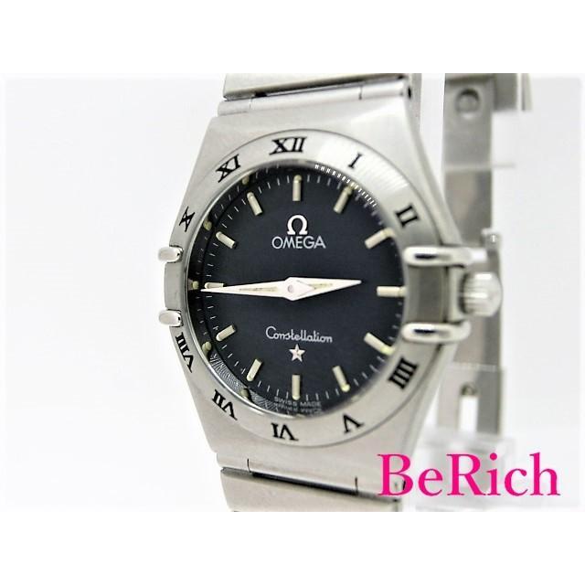 【ふるさと割】 オメガ コンステレーション 1572.40 レディース 腕時計 クォーツ QZ SS ネイビー文字盤 OMEGA 【】【送料無料】 sb250, ニューヨークからの贈り物 6a46f392