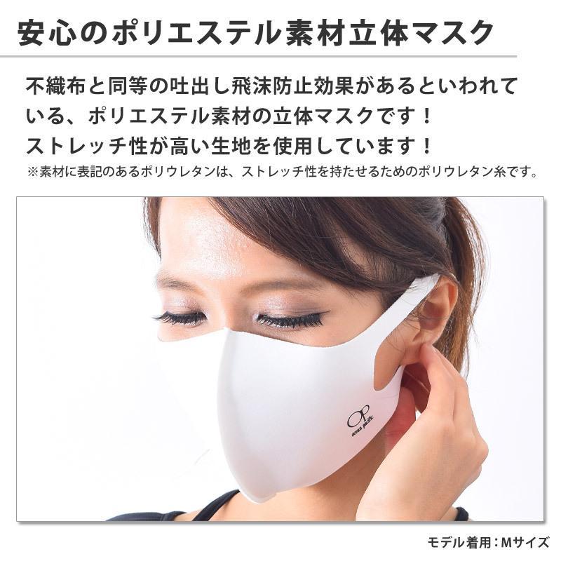 マスク 洗える 厚手 布マスク 立体 マスク 大人用 3枚組 UVカット 男女兼用 大きめ 男性 メンズ 990307 OP オーピー M/L ゆうパケット送料無料 返品交換不可|beach-angel|06
