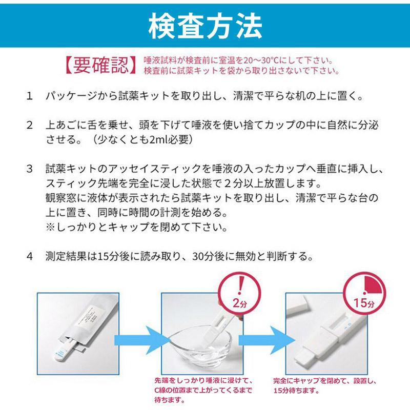 PCR検査キット 抗原検査キット コロナ 検査 1点 唾液検査 自宅でわかる 簡単 c567 ネコポス送料無料 返品交換不可 beach-angel 04