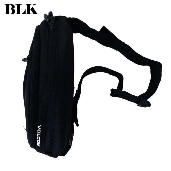 ボルコム ボディバック 人気 ブランド メンズ ウエストポーチ ワンショルダー 斜めがけ 黒 ブラック サイズ調整可 20代 30代 40代 プレゼント VOLCOM  D6511650|beachdays|03