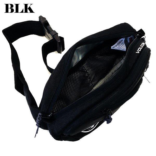 ボルコム ボディバック 人気 ブランド メンズ ウエストポーチ ワンショルダー 斜めがけ 黒 ブラック サイズ調整可 20代 30代 40代 プレゼント VOLCOM  D6511650|beachdays|06