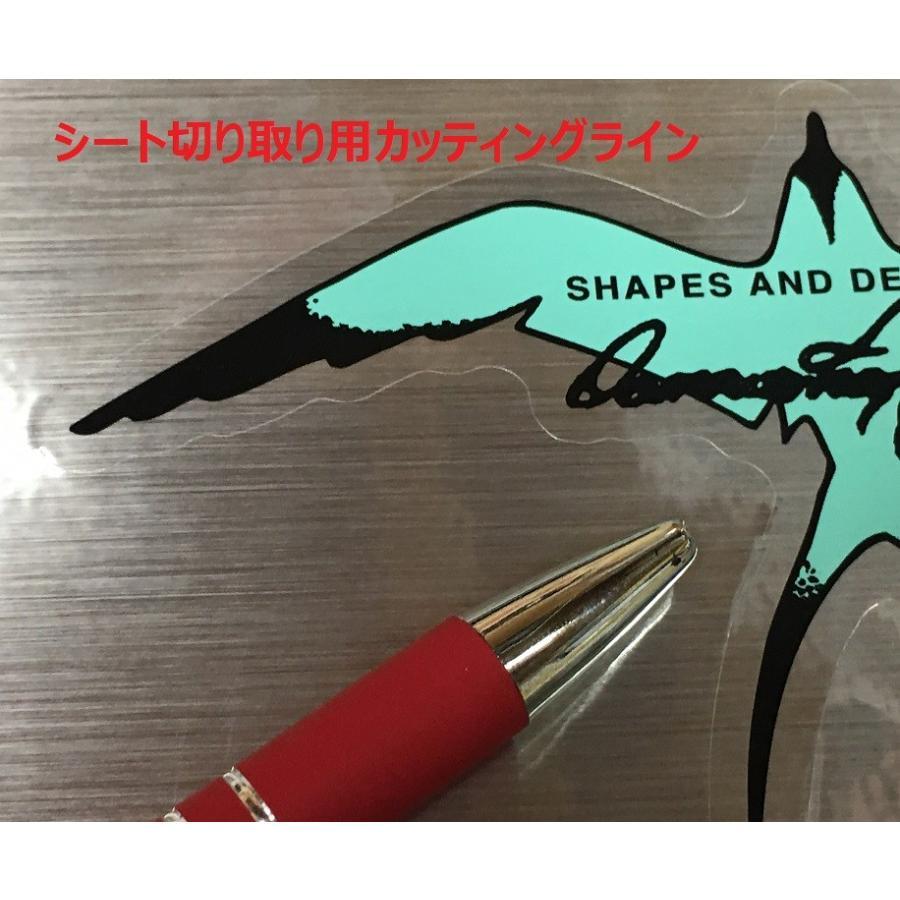 クリックポスト対応 ステッカー ドナルド タカヤマ BIRD バード HS-B-ST DONALD TAKAYAMA HPD ハワイアンプロデザイン シール サーフィン ロングボード|beachstore|03