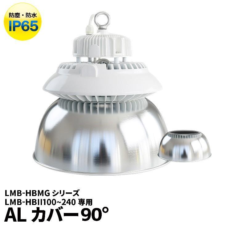 LMB-HBII LMB-HBMG シリーズ専用 アルミカバーBタイプ・90度 AL90D-B ビームテック beamtec-forbusiness