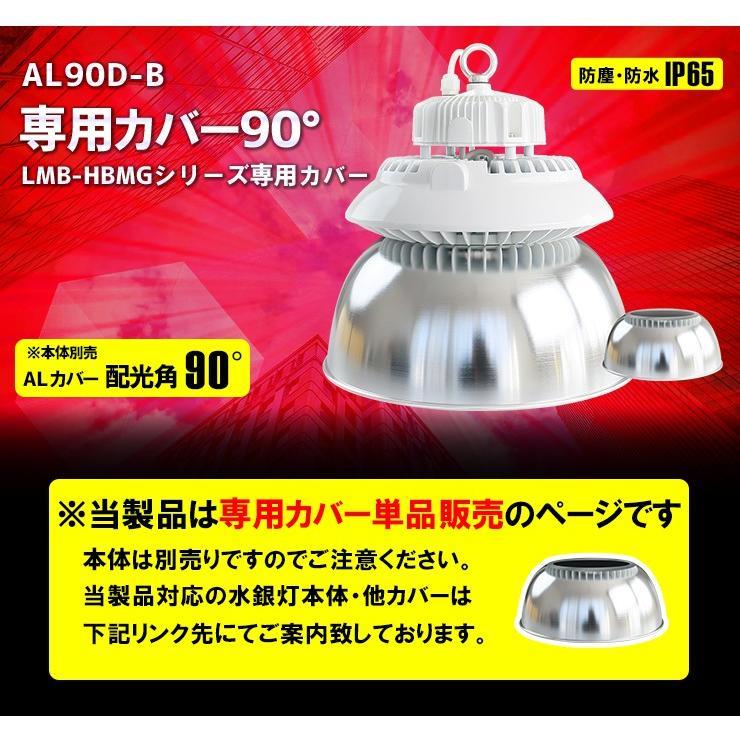 LMB-HBII LMB-HBMG シリーズ専用 アルミカバーBタイプ・90度 AL90D-B ビームテック beamtec-forbusiness 10