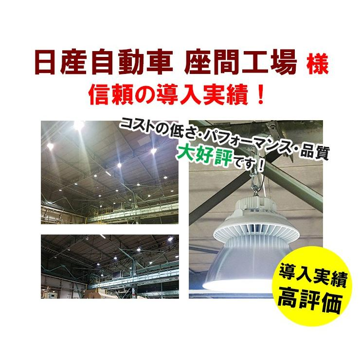 LED水銀灯 400W 相当 高天井用LED LED照明 屋外 防塵 防水 LED 水銀灯 施設照明 工場 倉庫 作業灯 LEDライト LMB-HBMG100 beamtec-forbusiness 11