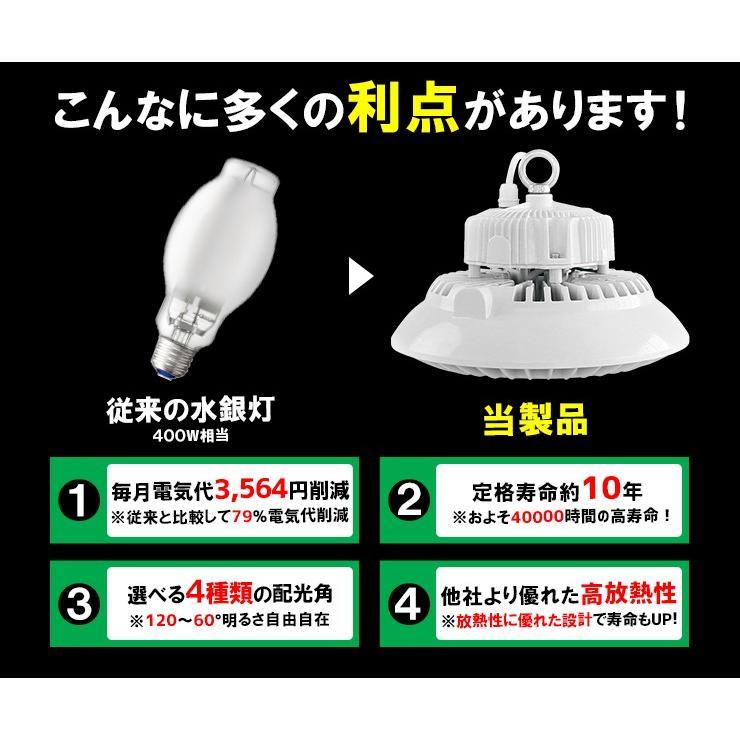 LED水銀灯 700W 相当 高天井用LED LED照明 屋外 防塵 防水 LED 水銀灯 施設照明 工場 倉庫 作業灯 LEDライト LMB-HBMG150|beamtec-forbusiness|12