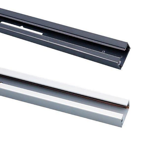 ダクトレール 天井用 本体 直付用 ライティングレールシリーズ 白 ビームテック 数量は多 ファクトリーアウトレット 1m 黒 BDR0211
