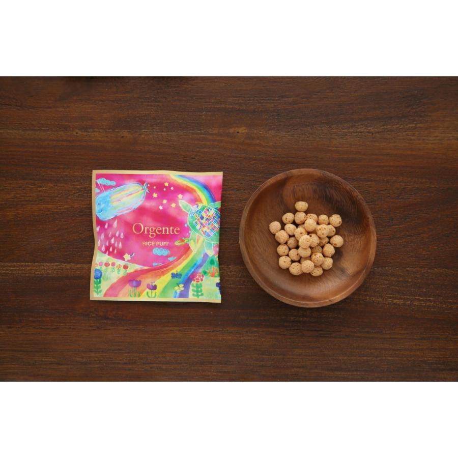 【販売再開】子供用 無添加 パフ お菓子 化学農薬不使用 砂糖や食塩不使用 Orgente PUFF ピンク ニンジン&ビーツ 7袋入り|beans-japan|02