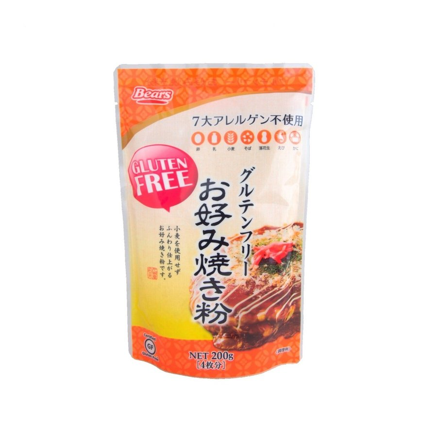 まとめ買い特価 グルテンフリーお好み焼き粉 本日限定 200g