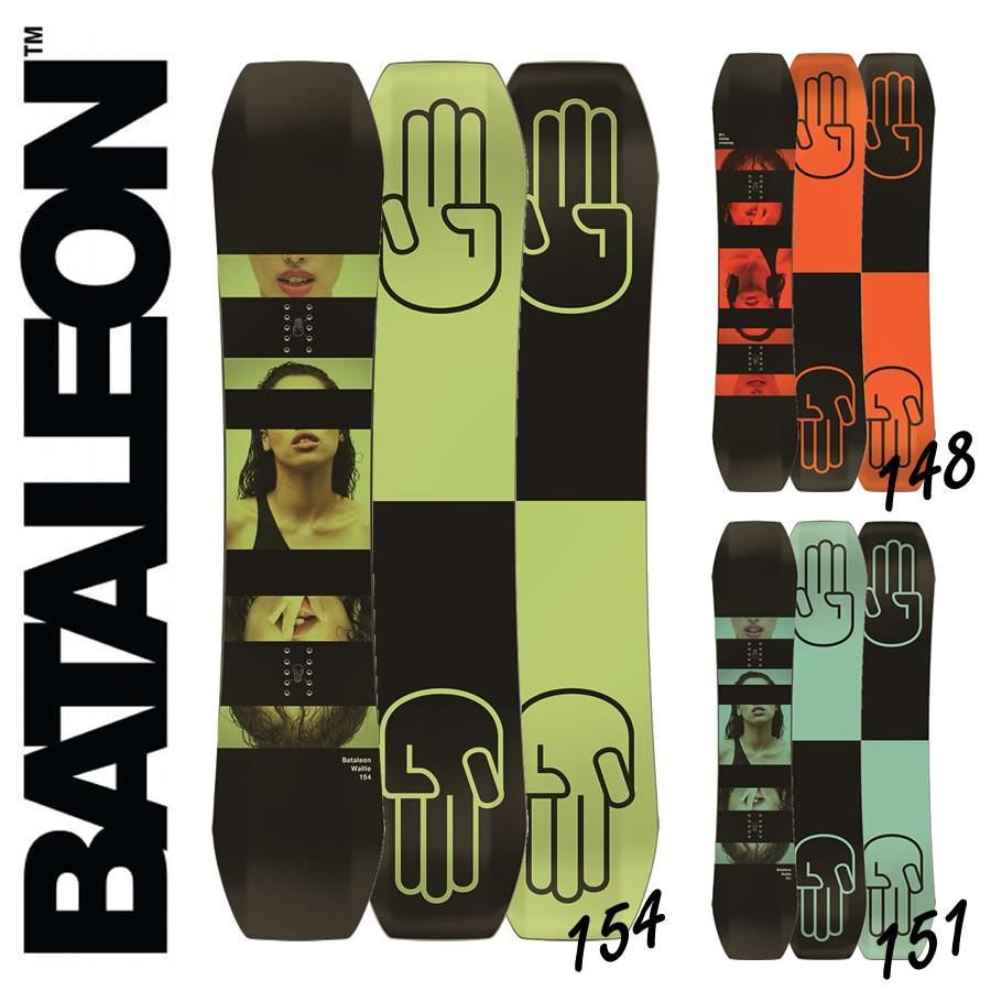 2017-2018 2017-2018 2017-2018 BATALEON SNOWBOARDINGS WALLIE バタレオン スノーボード d82