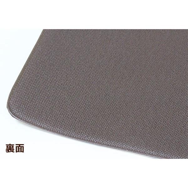 チェアパッド もちもちクッション 直径35cm PVC MATERIAL ラウンド型 抗菌 防臭 防カビ 防炎 撥水 はっ水 塩化ビニル樹脂 チェアーラグ ネコ beau-p 05