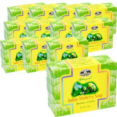 インディアンマルベリーソープ IndianMulberrySoap 100g ノニの100%天然成分の石鹸 新作アイテム毎日更新 激安セール 海外直送:日時指定不可 12個