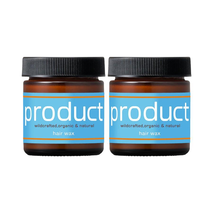 2個 お買い得セット ザ プロダクト オーガニック ヘアワックス おすすめ 42g 送料無料 product 最新 国内正規品 Hair Wax