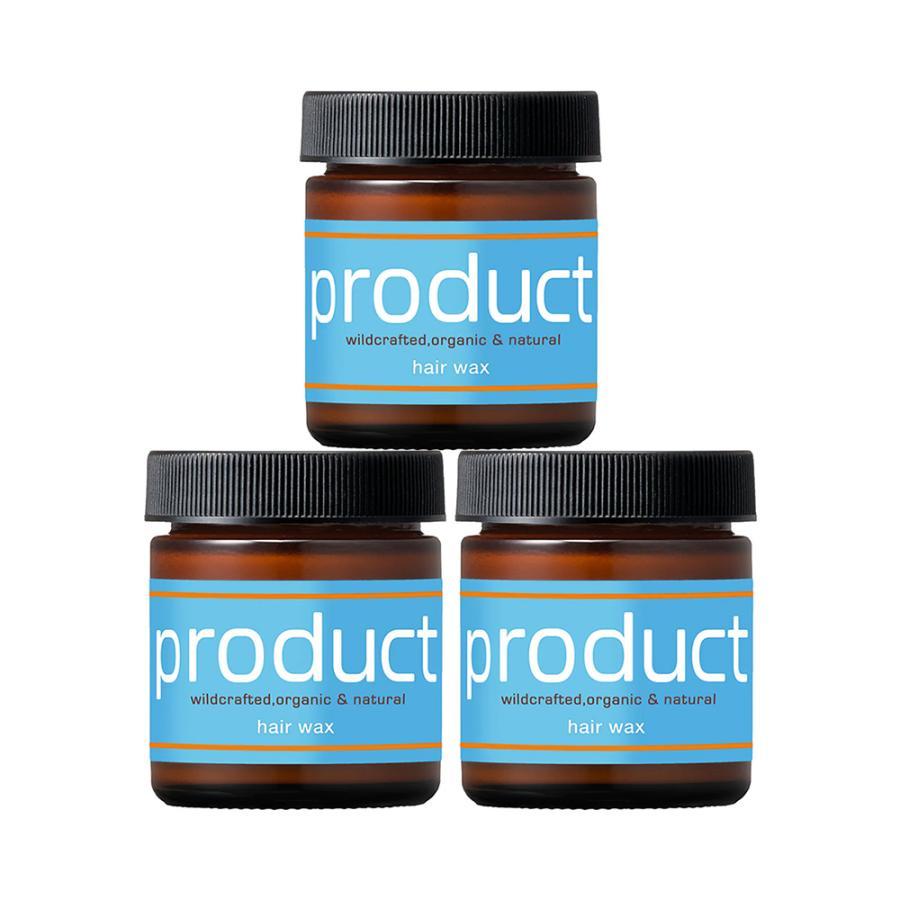 3個 超特価 お買い得セット ザ プロダクト オーガニック ヘアワックス Wax product Hair 国内正規品 毎日がバーゲンセール 送料無料 42g