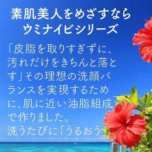 カミヤマ美研 ウミナイビ洗顔石鹸(ヨモギソープ) 送料最安|beaural|02