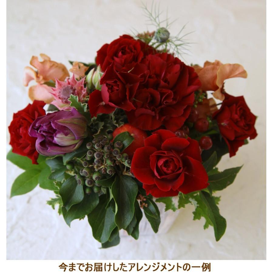 花 ギフト プレゼント 誕生日 結婚 記念日 お見舞い 開店 新築 還暦 お祝い 季節の花 フラワー アレンジメント レッド 画像配信 be-r|beautiful-boy|04