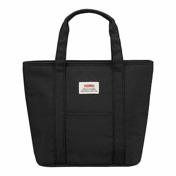 サーモス THERMOS 保冷ランチバッグ [容量:約7L] [カラー:ブラック] #REW-007-BK 【あすつく】|beautyfactory