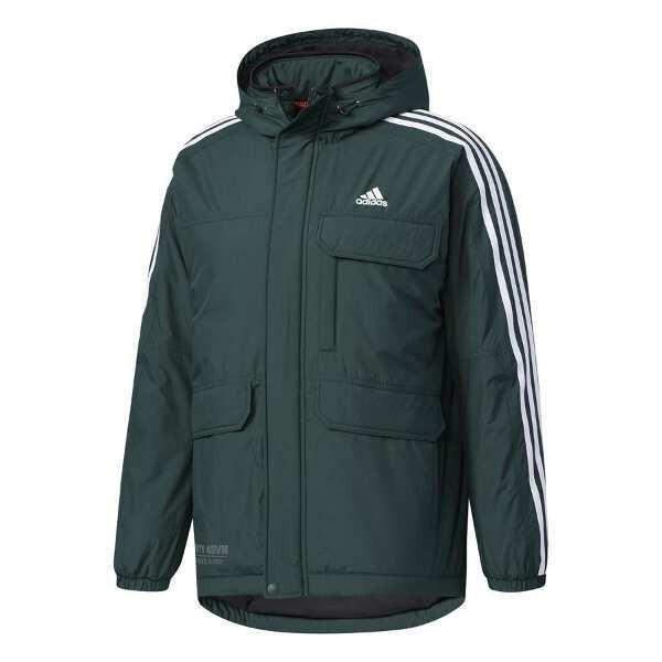 アディダス ADIDAS M adidas 24/7 中綿ウインドブレーカージャケット [サイズ:O] [カラー:グリーンナイト] #DUQ95-CD2901