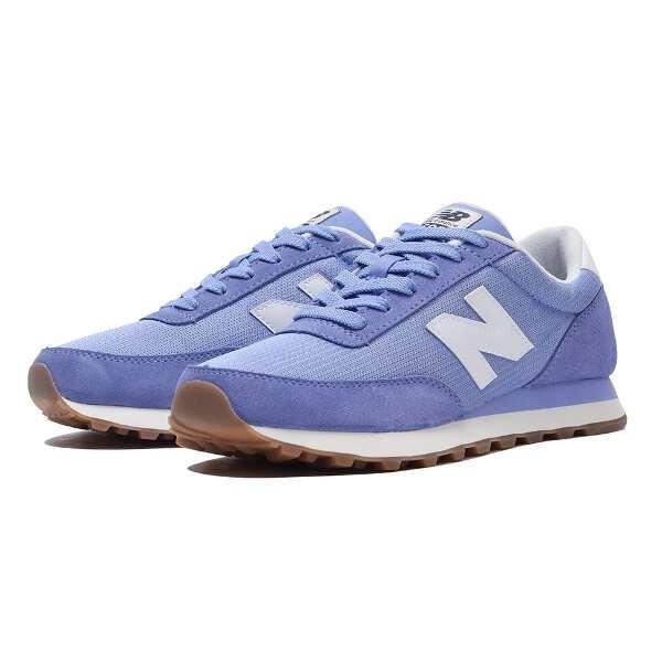 ニューバランス NEW BALANCE WL501 ランニングシューズ [サイズ:23.0cm(D)] [カラー:ブルー] #WL501CVB