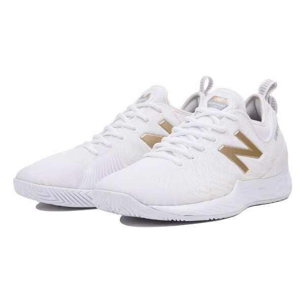 ニューバランス NEW BALANCE FRESH FOAM LAV H オールコート用テニスシューズ [サイズ:27.5cm(2E)] [カラー:ホワイト×ゴールド] #MCHLAVRG