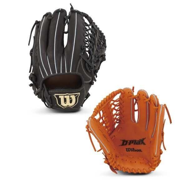 ウィルソン (左投げ用)D-MAX 外野手用 一般軟式野球グラブ(左投げ) [カラー:Wオレンジ] [サイズ:11] #WTARDR7WFR-21 WILSON