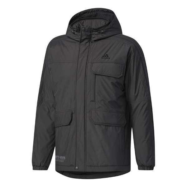 アディダス M adidas 24/7 中綿ウインドブレーカージャケット [サイズ:XO] [カラー:ブラック] #DUQ95-CD2897 ADIDAS