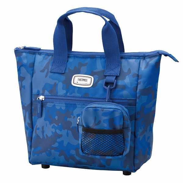 サーモス 保冷ラウンドトートバッグ [容量:約4.8L] [カラー:ネイビーカモフラージュ] #REN-001-NVY-C THERMOS Cool Tote Bag|beautyfive