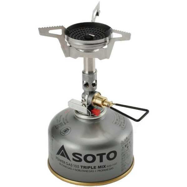 SOTO マイクロレギュレーターストーブ ウインドマスター SOD-310 [サイズ:バーナー単体(使用時)幅90×奥行117×高さ100mm] #SOD-310 beautyfive