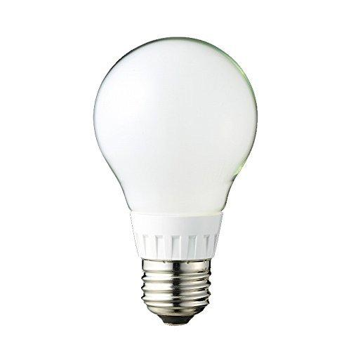 ルミナス LED電球 フロストタイプ 全配向 40W相当 電球色 526lm 口金E26 LDOA40L-GF|beautyh