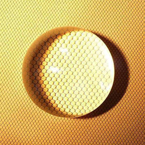 クリスタル ルーペ アクリル 虫眼鏡 拡大鏡 水まんじゅう 文鎮鏡 ペーパーウェイト 配送員設置送料無料 地図 書類 新聞 直営ストア 80mm 雑誌 拡大率10倍 半ボール 半球