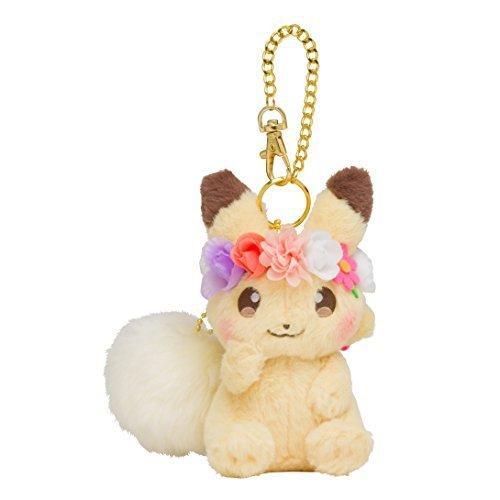 ポケモンセンターオリジナル チャーム付きマスコット ピカチュウ Pikachu&Eievui's Easter beautyh