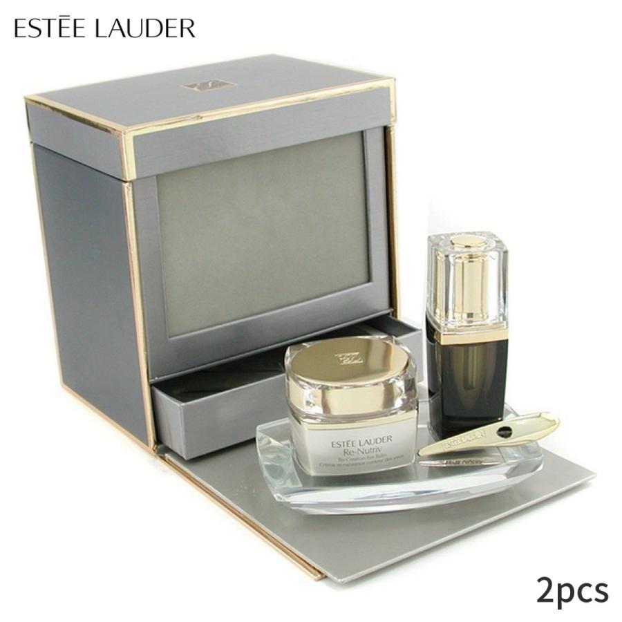 エスティローダー セット&コフレ Estee Lauder リクリエイションアイバーム:アイバーム15ml+ナイトセラム4ml 2pcs