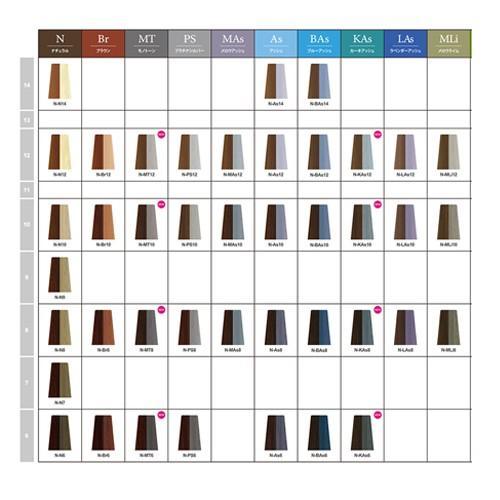 ナプラ ナシードカラー ファッションシェード N-N6 80g|beautyshop-aqua|02
