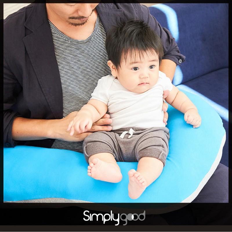 授乳クッション 抱き枕 妊婦 シンプリーグッド ナーシングピロー カラーシリーズ|bebechambre