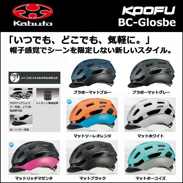 OGK カブト KOOFU (コーフー) BC-Glosbe(BC-グロッスベ) ヘルメット