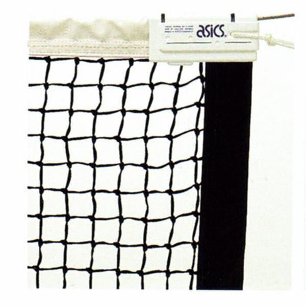 asics/アシックス 硬式テニスネット 11116K 全天候硬式テニスネット ブラック(90)