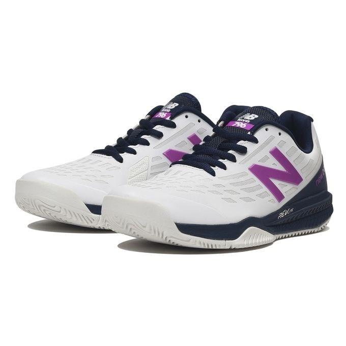 newbalance/ニューバランス WCH796K1D WCH796(D) ホワイト/バイオレット レディース テニスシューズ オールコート