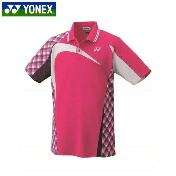 YONEX/ヨネックス 10268 テニス・バドミントンウェア ゲームシャツ654 ベリーピンク