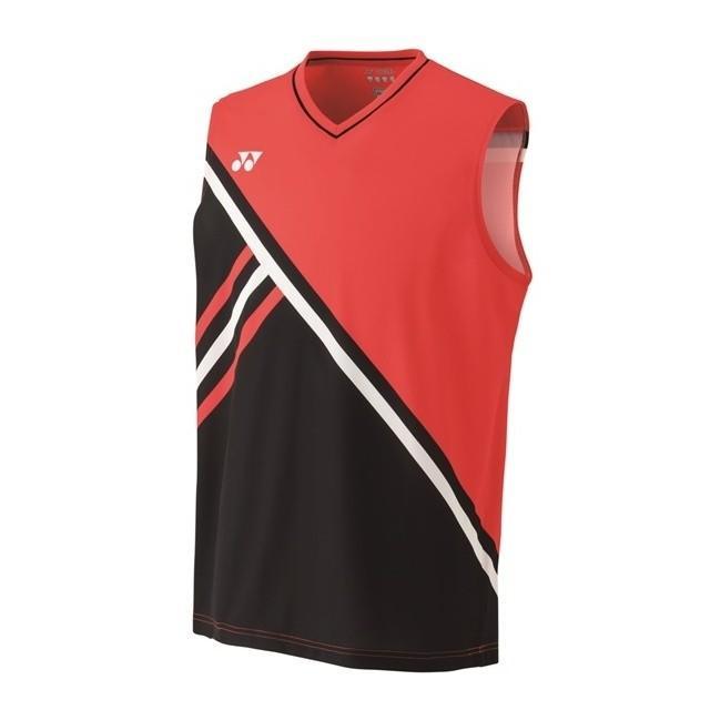 YONEX ヨネックス 10288 569 メンズ ゲームシャツ(ノースリーブ) ファイヤーレッド テニス・バドミントン ウェア