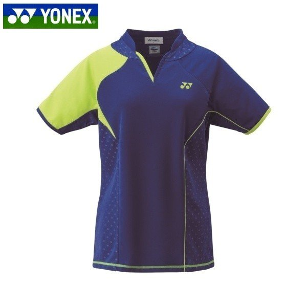YONEX/ヨネックス 20443 テニス・バドミントンウェア ウィメンズ ゲームシャツ472 ミッドナイトネイビー