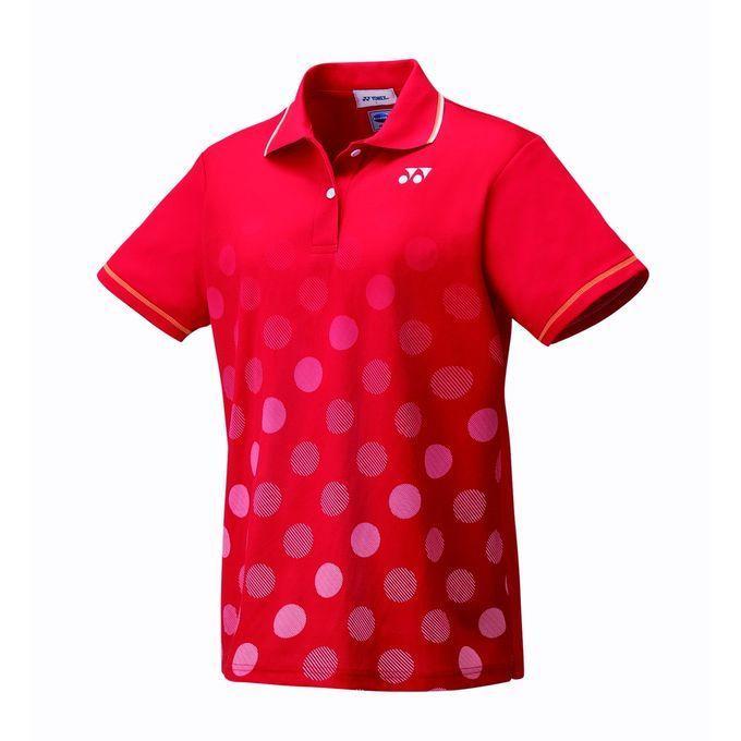 YONEX ヨネックス 20501 496 レディース ゲームシャツ サンセットレッド テニス・バドミントン ウェア
