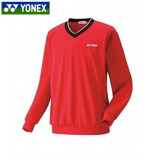 YONEX/ヨネックス 32019 テニス・バドミントン ウェア ユニトレーナー サンセットレッド 32019