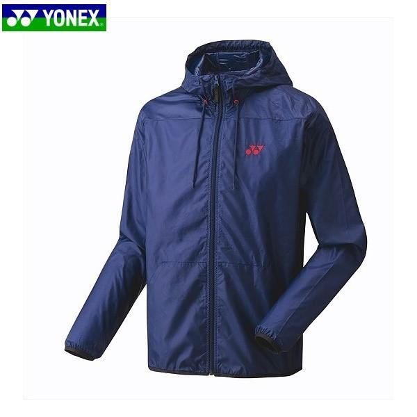 YONEX/ヨネックス 50076 テニス・バドミントン ウェア ユニウォームアップパーカー インディゴネイビー 50076