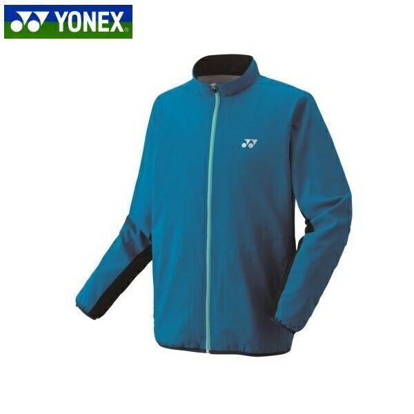 YONEX/ヨネックスー 70059 テニス・バドミントンウェア(ユニセックス) 裏地付きウィンドウォーマーシャツ506 インフィニットブルー