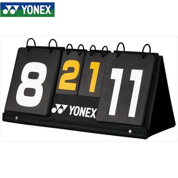 YONEX/ヨネックス AC372 バドミントン コート用品 バドミントンスコアボード ブラック AC372