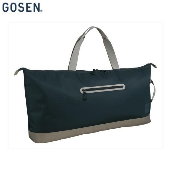 GOSEN/ゴーセン BA18CWT テニス バッグ ワイドトートバッグ CASUAL/ラケット2本収納可 チャコールグレー BA18CWT