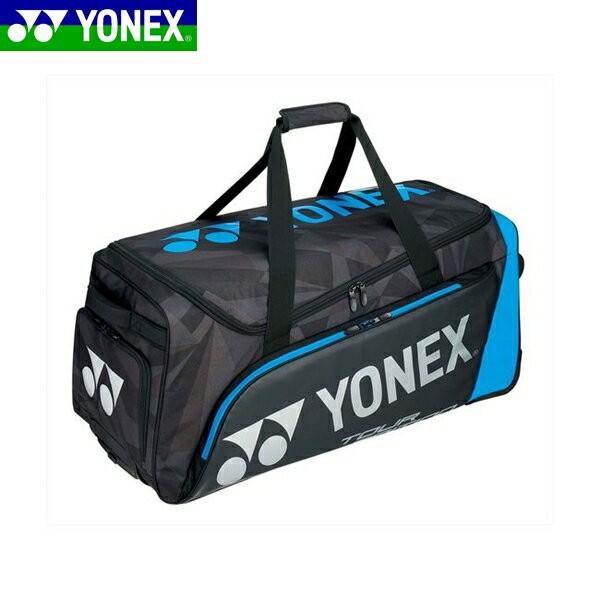 YONEX/ヨネックス BAG1800C テニス バッグ キャスターバッグ ブラック/ブルー BAG1800C