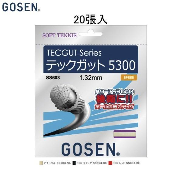 最前線の GOSEN/ゴーセン ソフトテニス ガット(国内) ナチュラル テックガット 5300/ノンパッケージ20張SET/TECGUT 5300 GOSEN/ゴーセン ガット(国内) ナチュラル SS603NA20P, セレクトショップ クオン:55ff4e1a --- airmodconsu.dominiotemporario.com