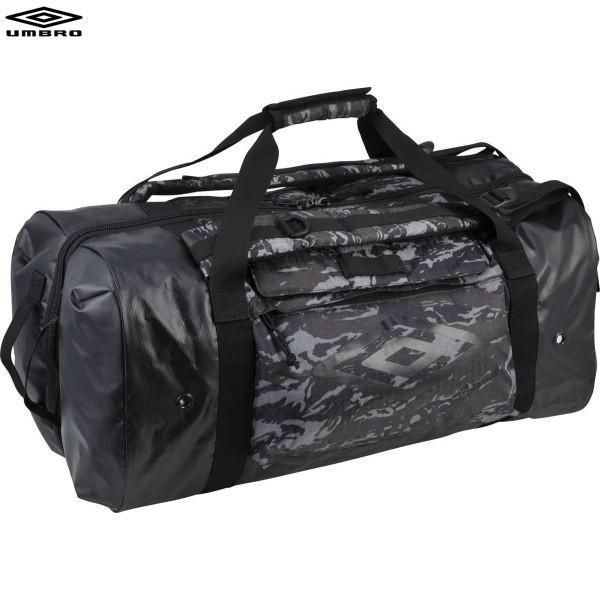 umbro アンブロ UUANJA24 サッカー バッグ 柄クローゼットバックパックL グレーカモ×ブラック UUANJA24