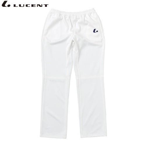LUCENT/ルーセント XLW7180 テニス ウェア(レディース) Ladies ウォームアップパンツ ホワイト XLW7180